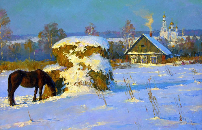 Зимние пейзажи русской природы, которые переносят в заснеженную сказку