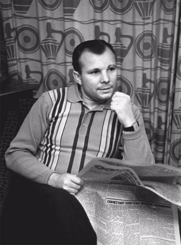 Последние снимки Юрия Гагарина