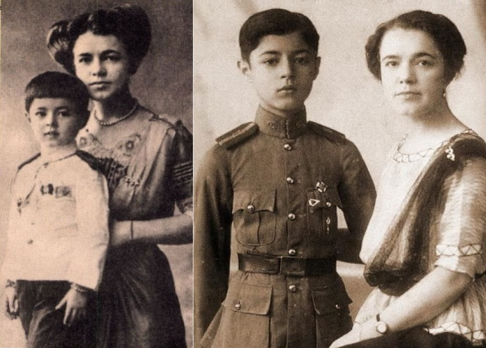 Екатерина Десницкая с сыном
