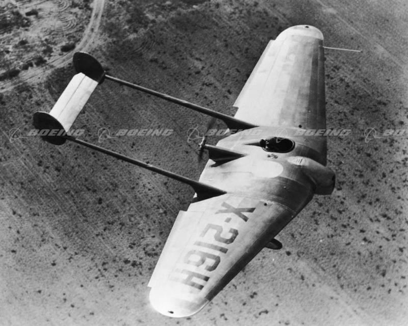 Экспериментальный самолет Northrop Flying Wing 1929 (США)