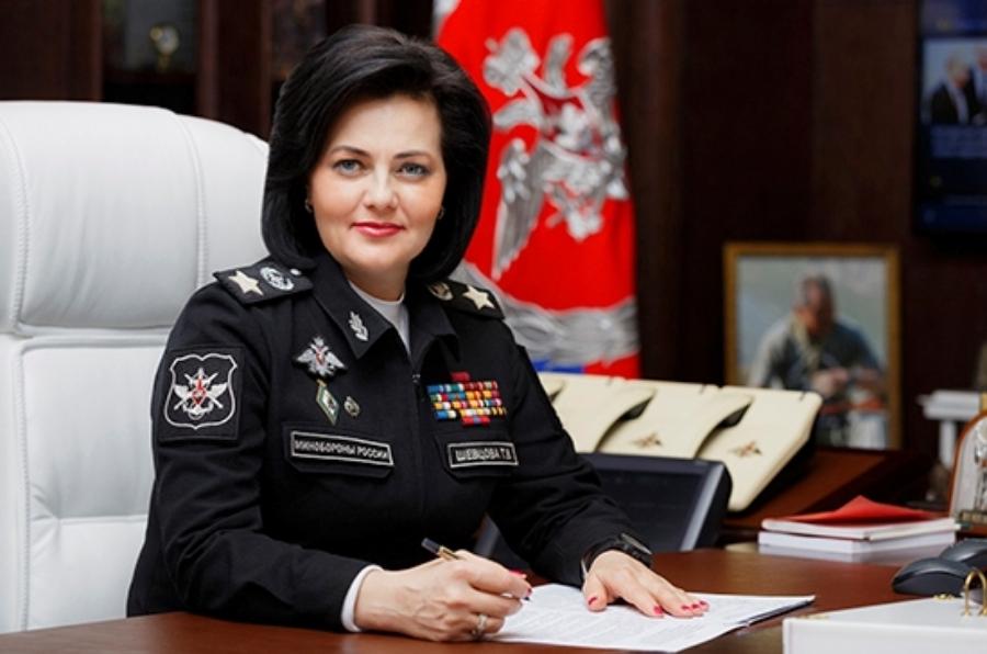 Шевцова на посту заместителя Министра обороны РФ