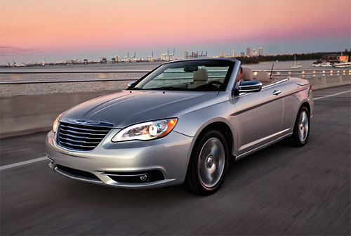 Chrysler отказался от выпуска двух моделей