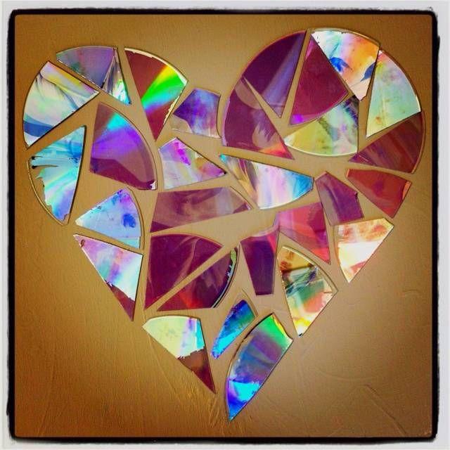 Декоративная мозаика может скрасить любую скучную комнату диск, своими руками, сделай сам