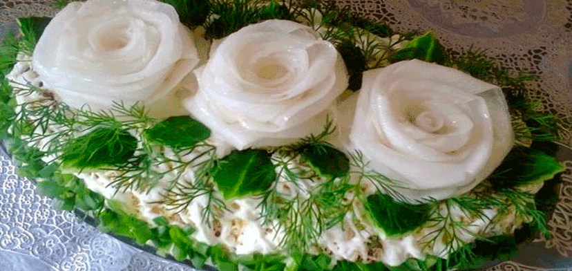 Очень вкусный салат Три белы…