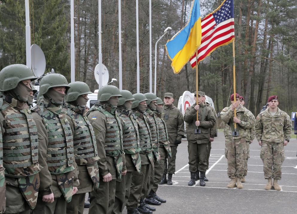 Американцы вводят войска на Украину? ...