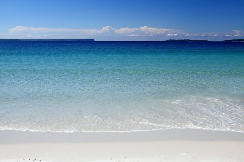Пляж с самым белым песком (занесен в Книгу рекордов Гиннесса) - Хайямс, бухта Джарвис, Новый Южный Уэльс австралия, доказательство, животные, мир, природа, туризм, фотография