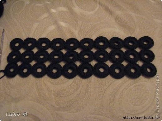 Сумочка из колец с бисером. Вязание крючком без отрыва ниток (8) (520x390, 119Kb)