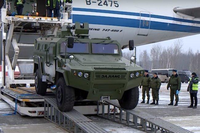 Армия Беларуси пересаживается на внедорожники «Великий генерал»
