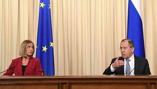 Лавров спросил у ЕС, почему санкции были введены только против России