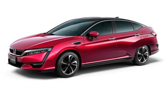 Honda Clarity с водородным двигателем предлагает рекордную дальность пробега