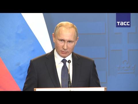 Путин: Киев, нуждаясь в деньгах, пытается обострением в Донбассе представить себя жертвой