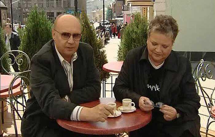 Андрей Мягков и Анастасия Вознесенская. / Фото: www.triinochka.ru