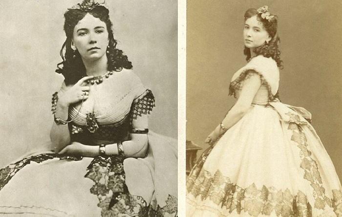 Кора Перл - куртизанка XIX века, которую первой «подали» голой на серебряном блюде