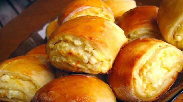Два рецепта: Творожные булочки