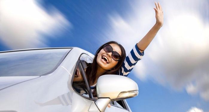 Что поможет женщине устранить маленькие проблемы своего автомобиля