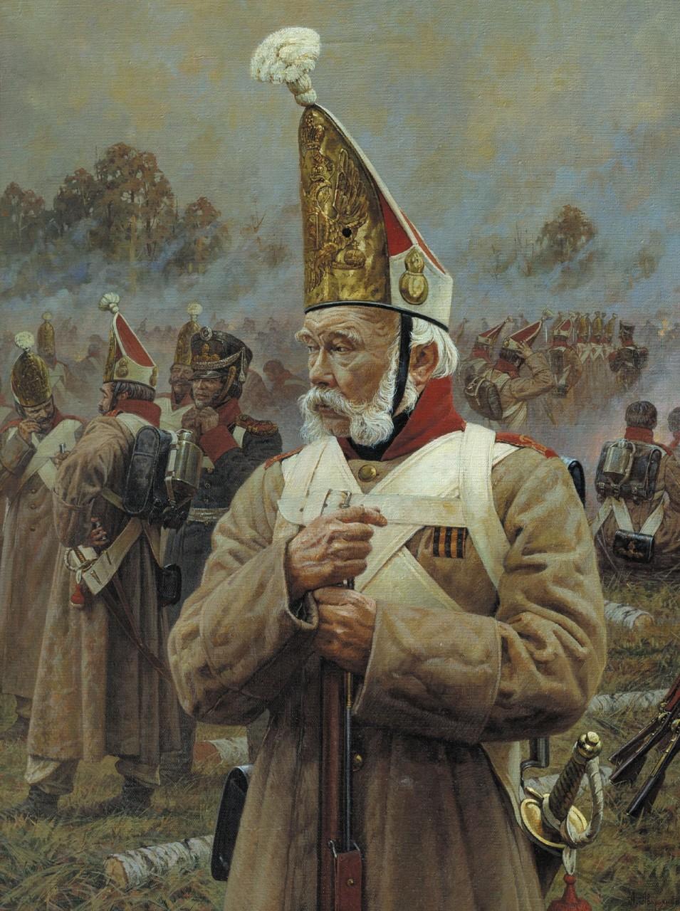 Боевая летопись России в картинах Александра Аверьянова.