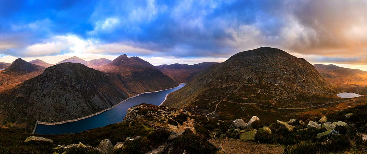 Сказочная природа Ирландии - горы Морн