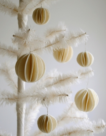 Новогодняя утилизация войлочных обрезков