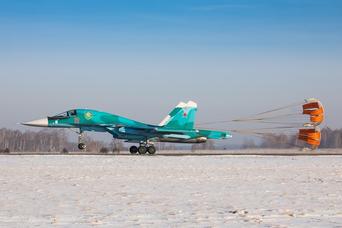 Поставки боевых самолетов в Вооруженные Силы России в 2018 году