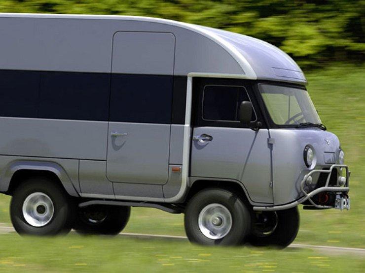 Вот как должен выглядеть новый УАЗ-452 «Буханка»