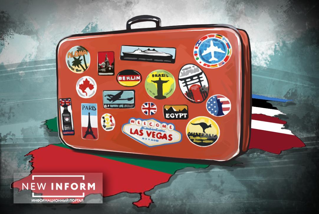 Нащупать новое дно: на Украине отчаянно «схватились» за чемоданы