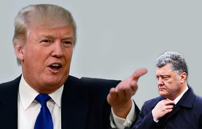 Порошенко заявил, что договорился с Трампом о дате визита в США