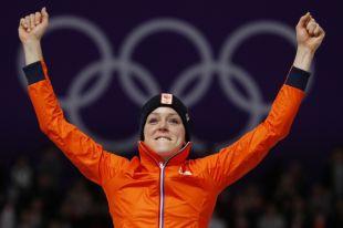 Конькобежка из Нидерландов взяла «золото» на дистанции 1000 м на ОИ-2018