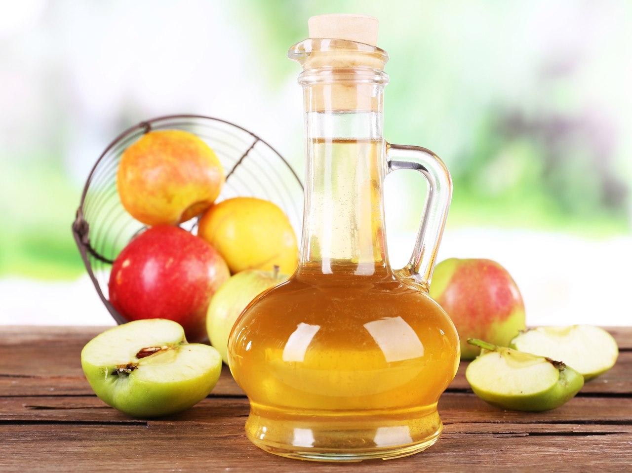 15 волшебных свойств яблочного уксус.