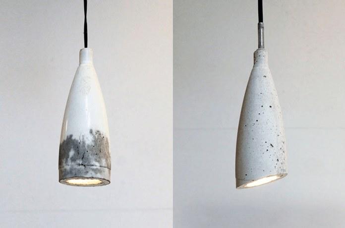 """Светильник в стиле """"модерн"""" из пластиковой бутылки"""