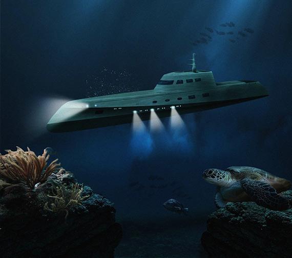 Подводный романтик