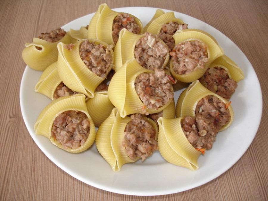 фаршировані макарони рецепт фото