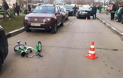 МВД: водитель могла предотвратить наезд на мальчика в Балашихе