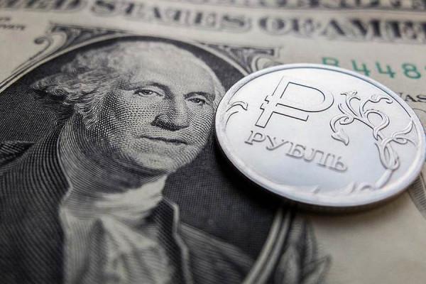 Курс российской валюты к дол…