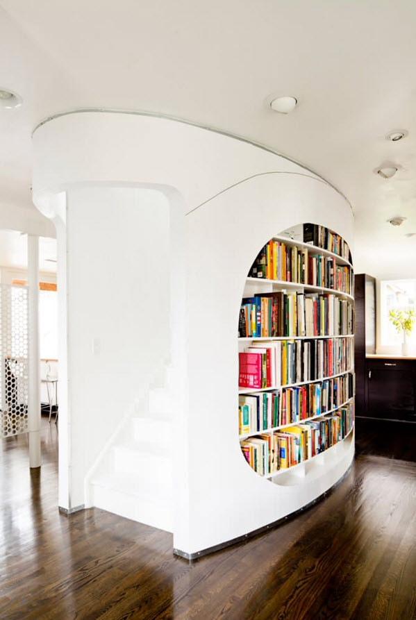 Ниша под книги