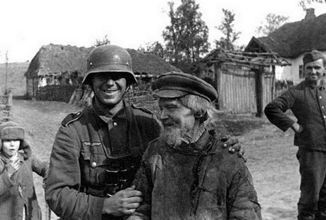 Советская деревня глазами немецкого фотографа (1941-1943гг)