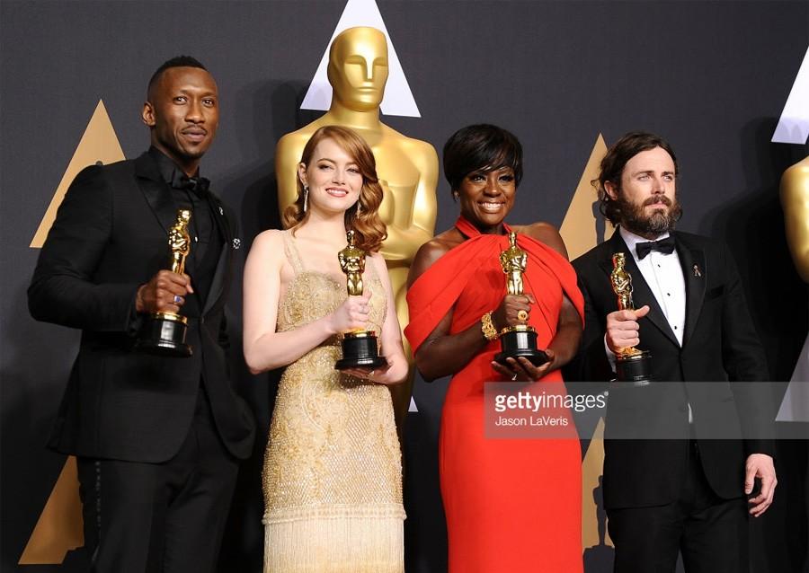 """Победители кинопремии """"Оскар-2017"""" на церемонии награждения"""