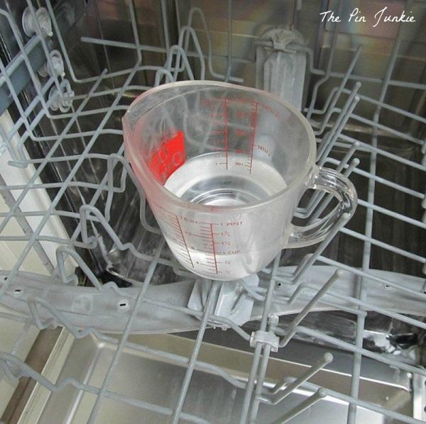 уксус в посудомоечной машине