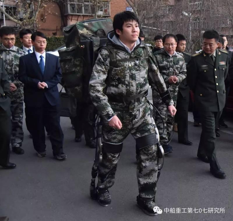 В Китае заявили о прорыве в создании экзоскелета-робота