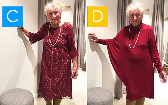 93-летняя невеста не может определиться с выбором своего свадебного платья