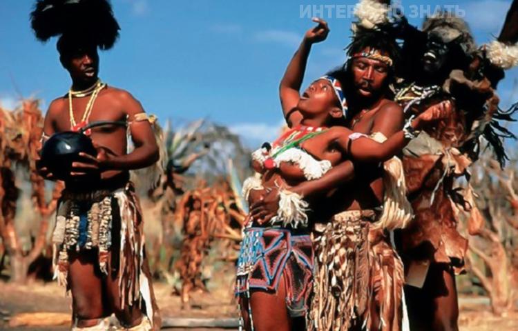 5 диких традиций первой брачной ночи в странах третьего мира