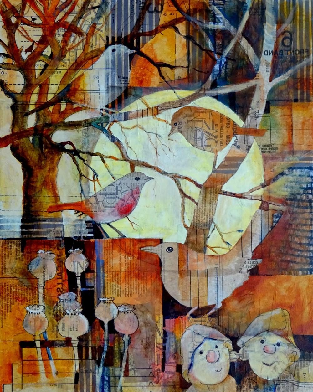 Удивительное — рядом, а не где-то на Луне… Британский художник Malcolm Coils