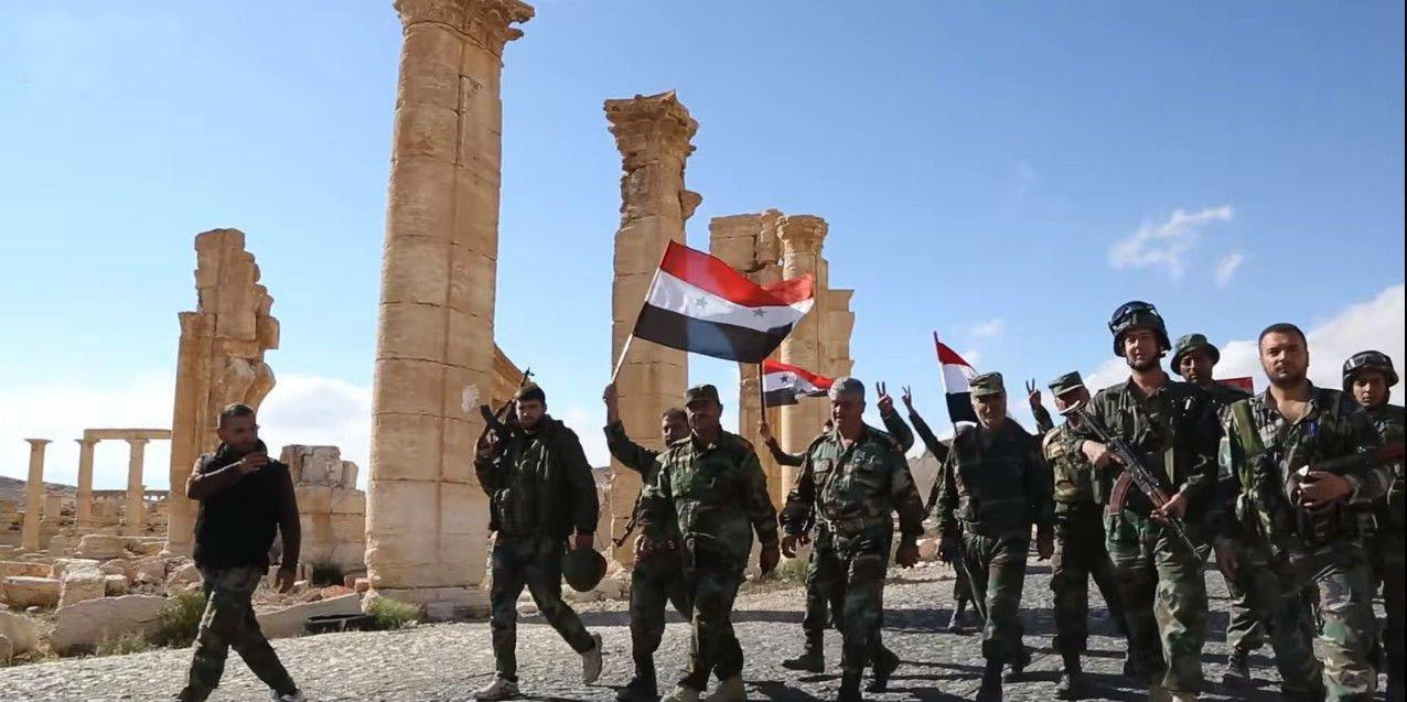 Молния: Пальмира наконец свободна