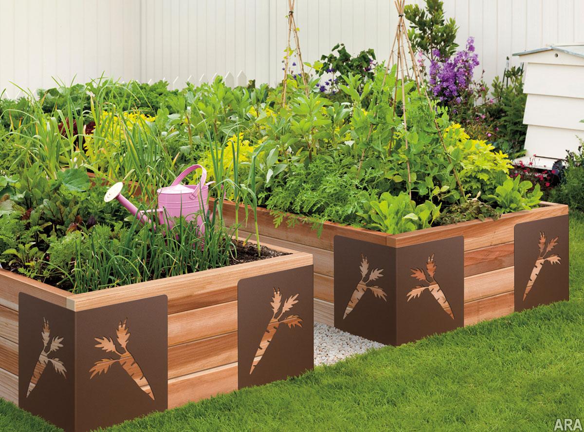 Идеи для сада и огорода грядки своими руками фото