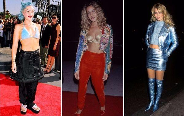 15 безумных нарядов звёзд, которые они носили в безбашенные 90-е
