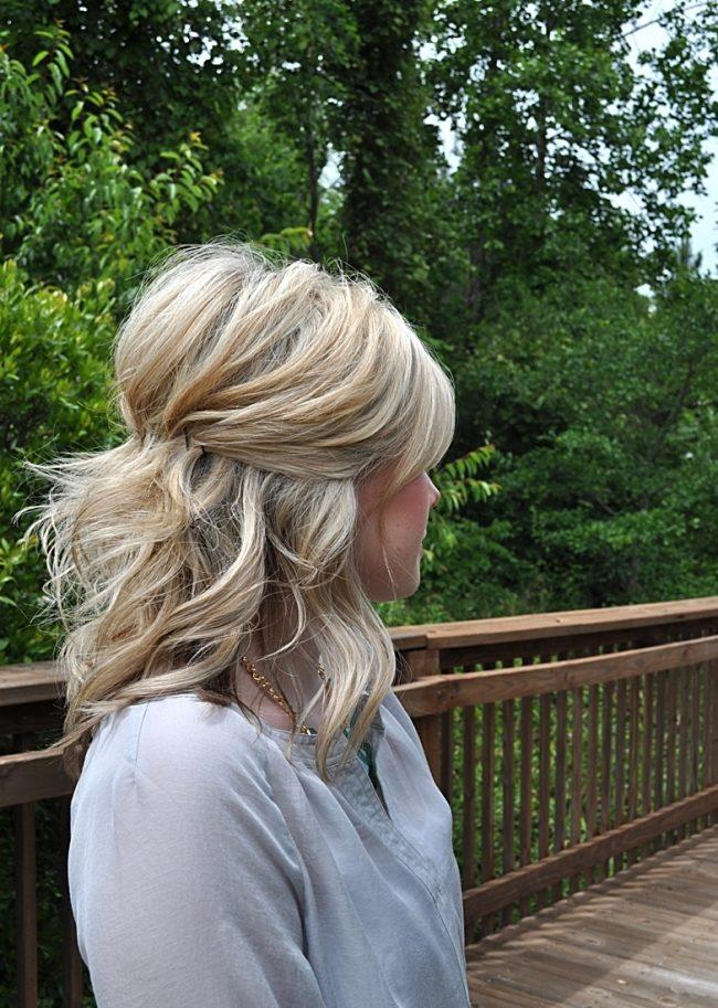 Свадебные причёски на короткие волосы в домашних условиях