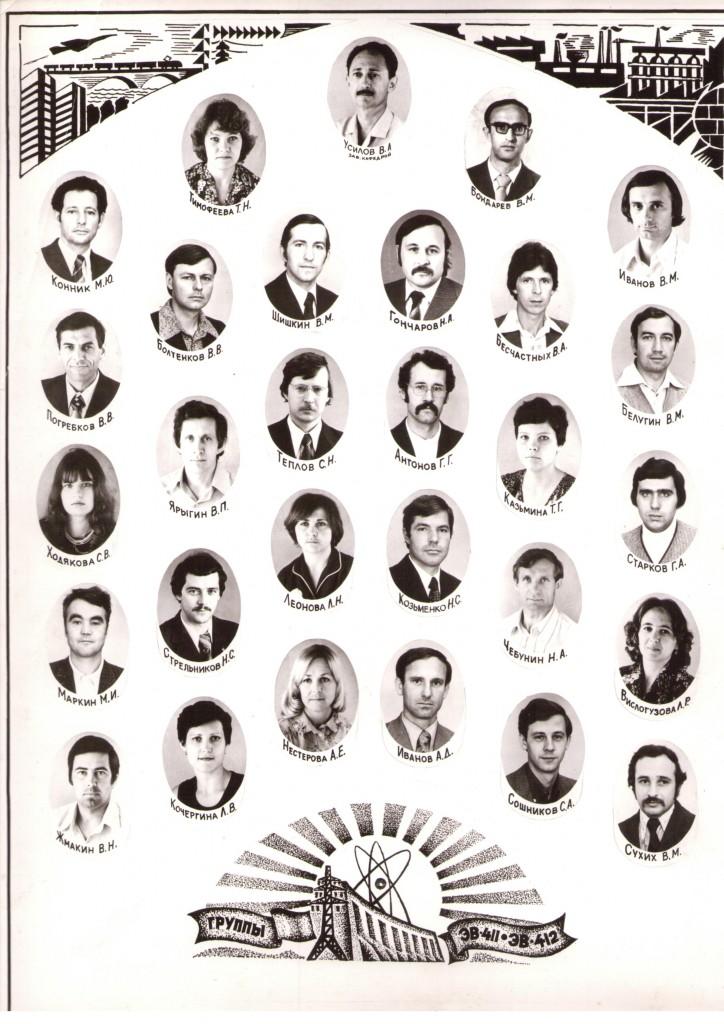 КПИ, Выпуск 1980 года