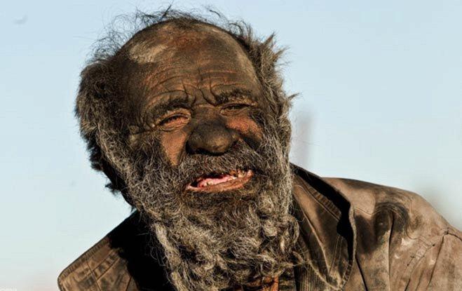 Самый грязный человек в мире