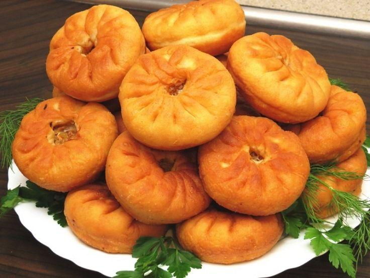 Воздушное тесто для жареных пирожков/беляшей