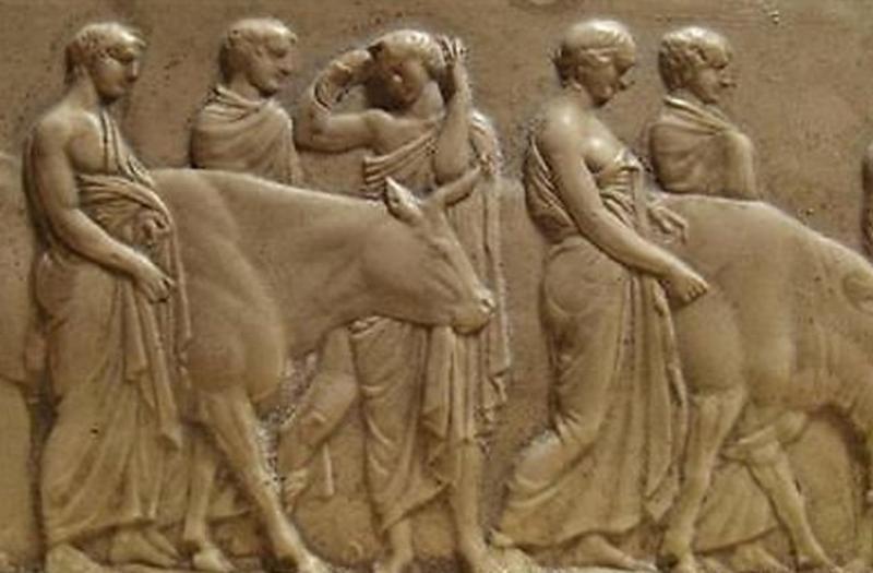 Промежуток между двумя античными олимпийскими играми
