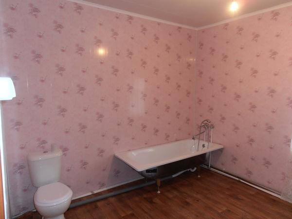 ванна с унитазом(уже удобства)